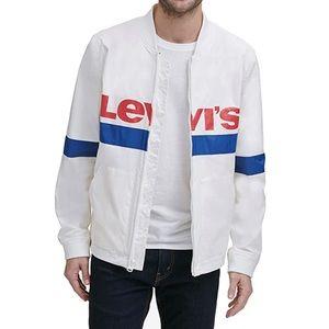 Levi's Men Retro Lightweight Varsity Bomber Jacket